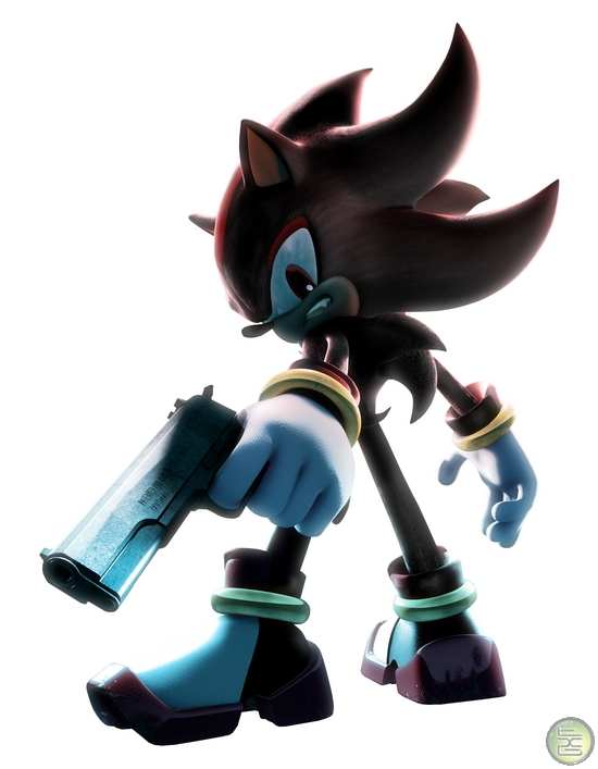 shadow the hedgehog the so called ultimate life form known for his